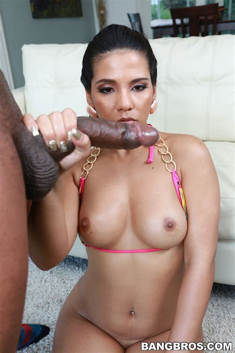 Voluptuous Latin Woman Is Sucking Black Cock Photos Rose Milf Fox
