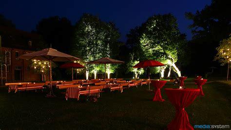 Abendgarten Stimmungsvoll Zu Spaeter Stunde by Geb 228 Udeillumination Media System 214 Hringen