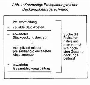 Deckungsbeitrag Berechnen : deckungsbeitragsrechnung dbr wirtschaftslexikon ~ Themetempest.com Abrechnung