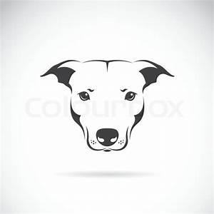 Vektor-Bild von einem Hund Kopf | Stock-Vektor | Colourbox