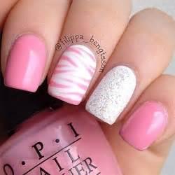 Fun bright summer gel nail art designs ideas