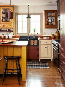 mismatched kitchen cabinets are a way to escape from
