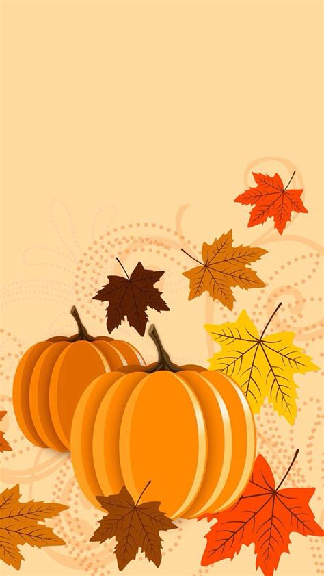 Background Home Screen Fall Thanksgiving Wallpaper by 1905 Best Wallpaper 4 Phone Images On Wall