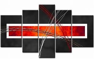 Leinwand 5 Teilig : abstrakt leinwand 5 bilder modern art m50472 xxl die leinwandfabrik ~ Whattoseeinmadrid.com Haus und Dekorationen