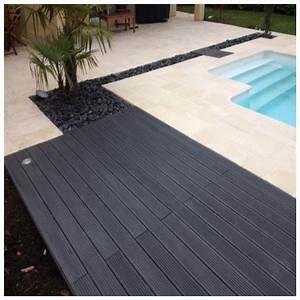 Terrasse Lame Composite : lame terrasse bois composite plein maxima 4273601 ~ Edinachiropracticcenter.com Idées de Décoration