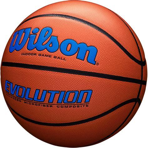 wilson official  evolution basketball navy royal