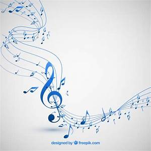 Musical notes background Vector | Free Download