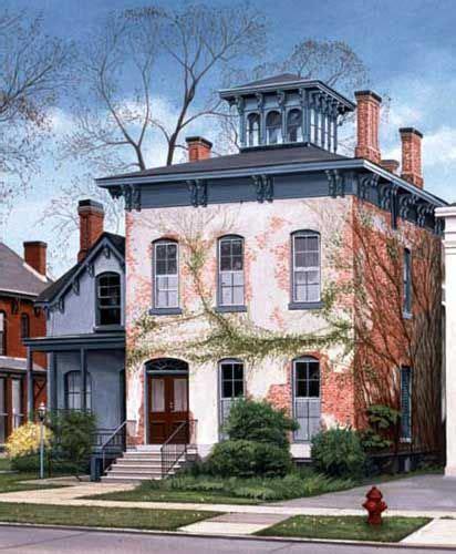 italianate style house buffalo ny italianate style house with belvedere cupola architecture pinterest