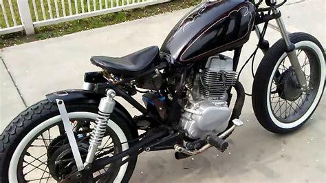 1982 Custom Bobber Cm 250 Rebel Youtube