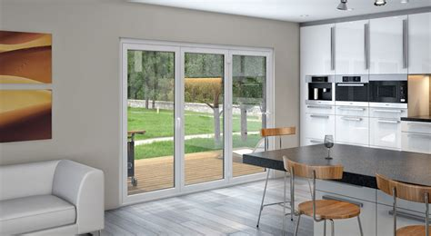 3 panel sliding glass door system robinson house