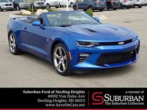 Used 2016 Chevrolet Camaro Ss Convertible Sterling Heights