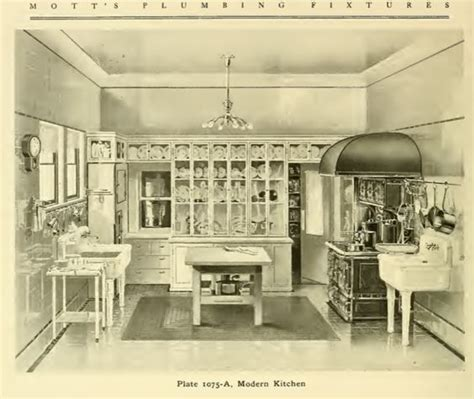 kitchen island faucets modern kitchen from mott s 1907 plumbing catalog early 1911