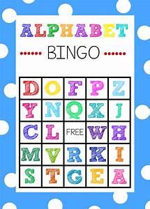 free printable alphabet bingo game alphabet bingo abc With letter games