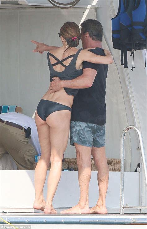 sylvester stallone bikini sylvester stallone s bikini clad wife jennifer flavin