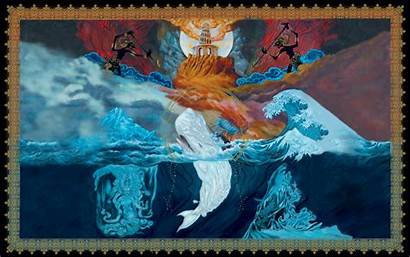 Leviathan Mastodon Artwork Mastadon Album Band Wallpapers