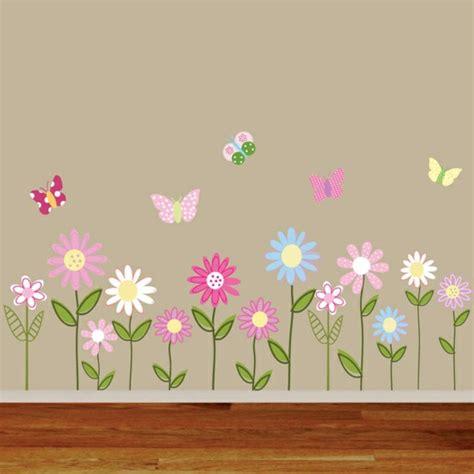 Wandtattoos Fürs Kinderzimmer by Wandtattoo Blumen Kinderzimmer Prinsenvanderaa