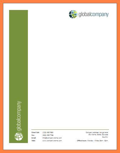 letterhead template word 3 microsoft word letterhead template company letterhead