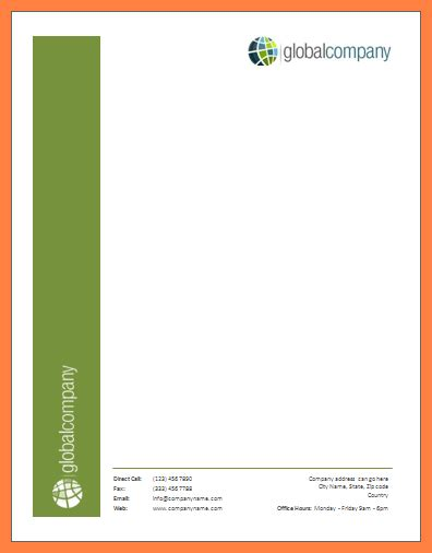 For this example, i'm using creative cloud 2019 (14.0.1) and word 2016 for windows (18.11) so my screenshots might look a little different to yours, but the concepts remain the great article on converting custom letterhead to microsoft word templates. 3+ microsoft word letterhead template - Company Letterhead