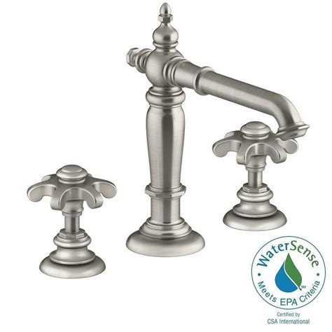 Home Depot Kohler Artifacts Kitchen Faucet by Kohler Artifacts 8 In Widespread 2 Handle Column Design