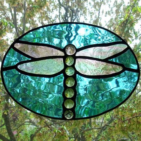 dragonfly stained glass l dragonfly stained glass suncatcher