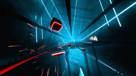 beat saber pc review  vr rhythm game  budding jedi