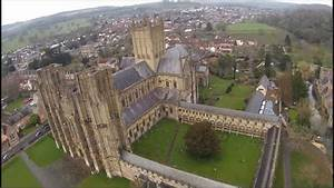 Rc Plane Flight Over Wells Cathedral  First Person View