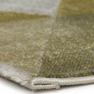 tapis 230x160cm quottonikquot vert fonce With tapis vert foncé