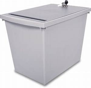 secure shredding bins for business all source mfg With secure document container