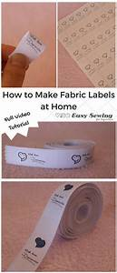 17 best ideas about fabric labels on pinterest sewing With fabric label maker for clothing