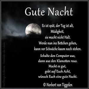 Schöne Gute Nacht Sprüche : schoene traeume guten abend gute nacht pinterest gedicht gef hle und erde ~ Udekor.club Haus und Dekorationen