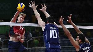 USA, Italy go distance in men's volleyball semis