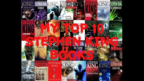 best stephen king books my top 10 stephen king books