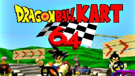 Mario kart 64 está en los top más jugados. Dragon Ball Kart 64 - UOA Plays - YouTube