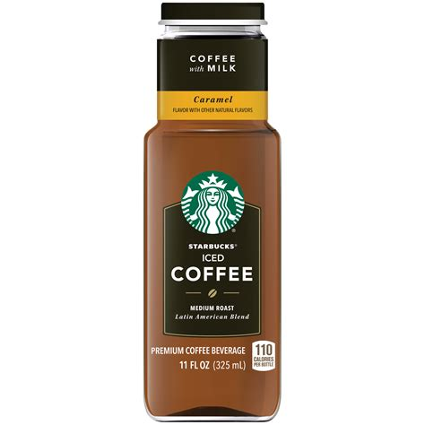 Each box contains four pitcher packs, which together make two full pitchers of cold brew (about twelve 8 fl oz servings). Starbucks Caramel with Milk Medium Roast Iced Coffee, 11 Fl. Oz. - Walmart.com - Walmart.com