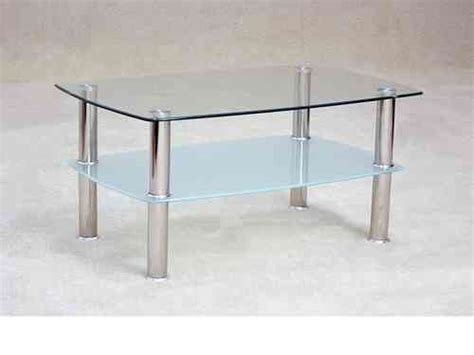 Coffee Tables In High Gloss & Glass