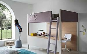 Chambre Enfant Conforama : le lit mezzanine ou le lit superspos quelle variante ~ Melissatoandfro.com Idées de Décoration