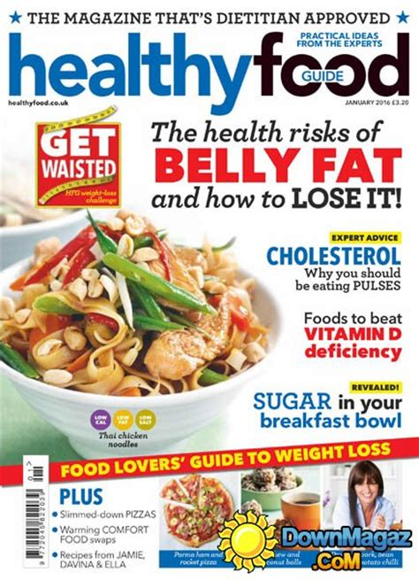 guide cuisine magazine healthy food guide uk january 2016 pdf
