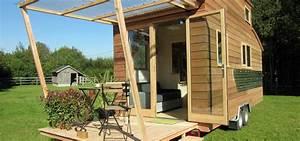 Tiny Haus Selber Bauen : tiny stream das mobile tiny house aus frankreich ~ Lizthompson.info Haus und Dekorationen