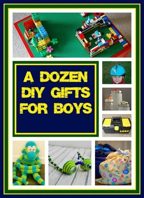 countdown  christmas dozen diy gift ideas  boys
