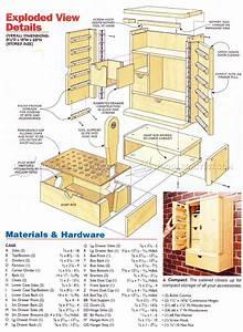Rotary Tool Cabinet Plans • WoodArchivist