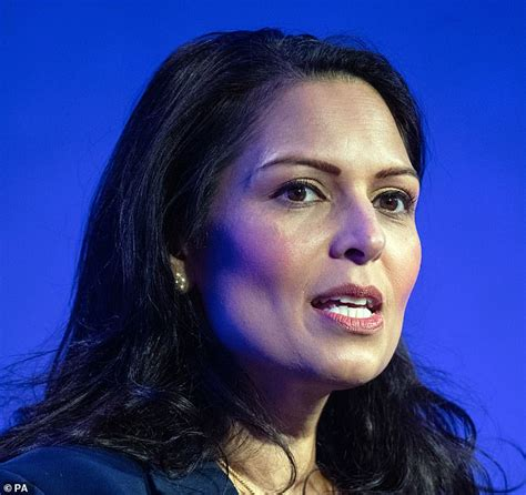 Home Secretary Priti Patel reveals plan to DOUBLE maximum ...