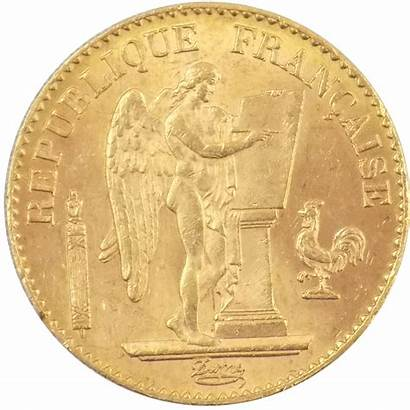 French Angel Lucky Franc Coin 1895 Coins