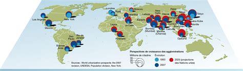 Carte Du Monde Villes Mondiales by Activit 233 4 232 Me Les M 233 Tropoles Mondiales Planisph 232 Re