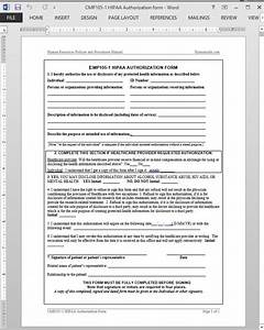 hipaa authorization template With hipaa compliance document template