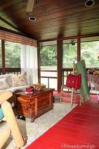 Rustic, Porch, Decorating, Outdoor, Decorating
