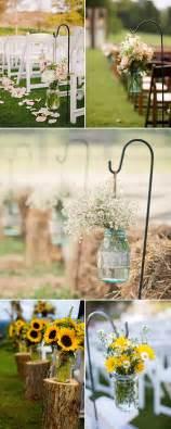 Rustic Wedding Decorations by Rustic Wedding Ideas 30 Ways To Use Jars