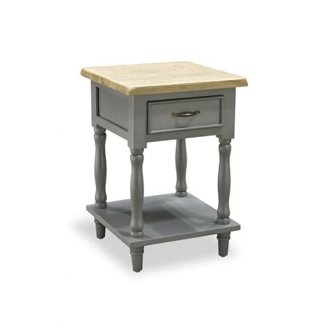 chester tall side table   drawer   shelf living