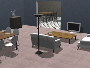 An Example Of A Living Room Layout Which Took On Average 152ms To