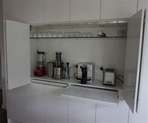 creative appliances storage ideas  small kitchens digsdigs