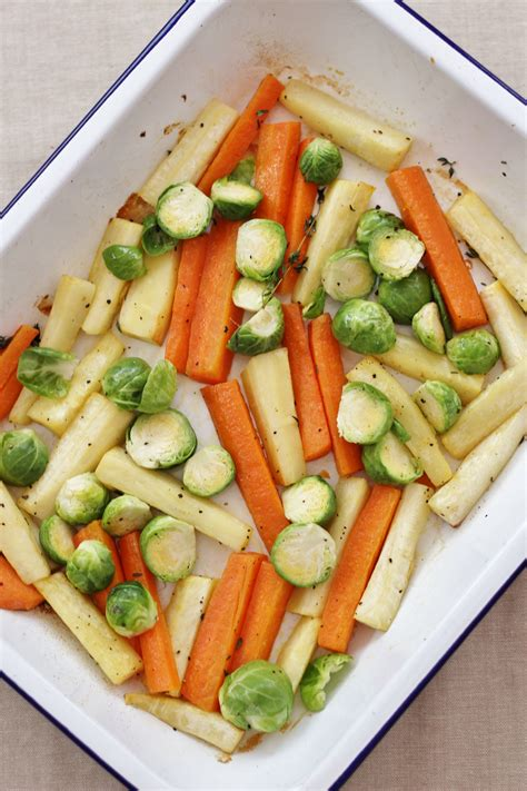 These vegetables were made using a very simple method and turned out to be the perfect complement to our meal. Easy Christmas Vegetable Traybake - Easy Peasy Foodie